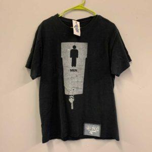 Black key design silkscreen shirt