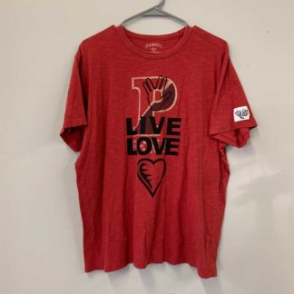liveLove Tag Diss Shirt-red